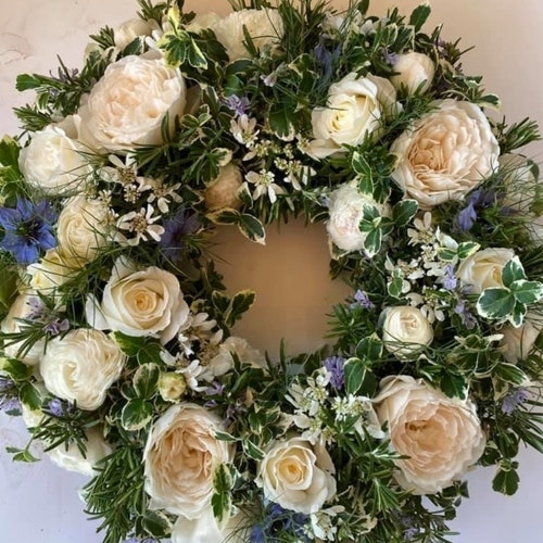 Bedfordshire Funeral Flowers Wreath